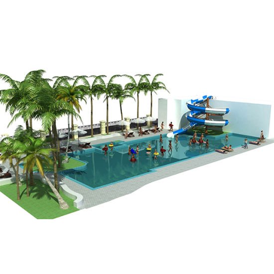 Hotel Water Park Contractor Swimming Pool Play Equipment Hotel Water Attraction