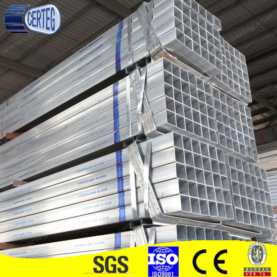 Low Carbon Steel Gi Square and Rectangular Tubes