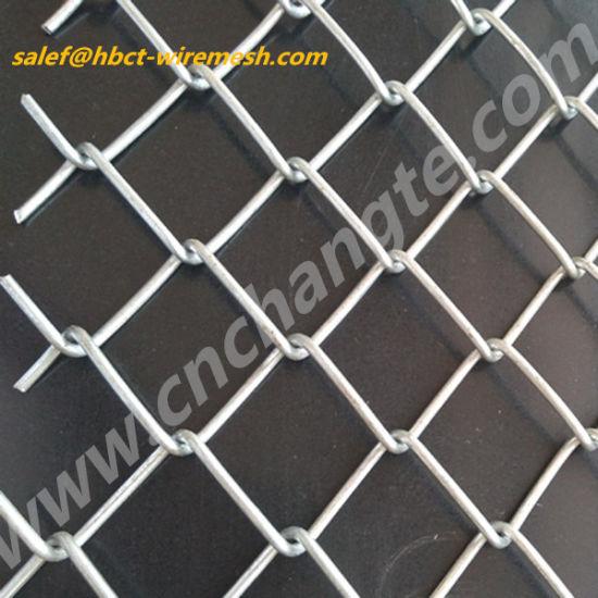 Wholesale 9 Gauge Grass Green Chain Link Wire Mesh