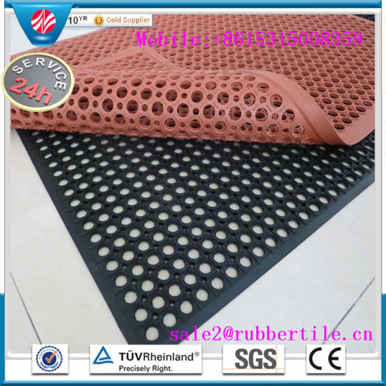 China Anti Static Rubber Mat Anti Fatigue Mat Acid