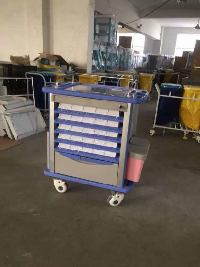 Medical Supply Hospital Product Nursing Server Cart / Medical Trolley pictures & photos