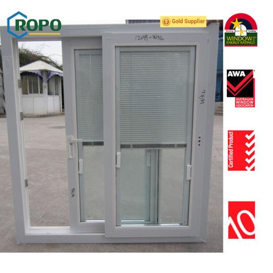 sliding window blinds arcadia door australia standard upvc pvc shutter window blinds sliding window china