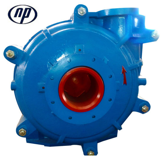Medium Duty Mine Tailing Transportation Mineral Process Slurry Pump pictures & photos