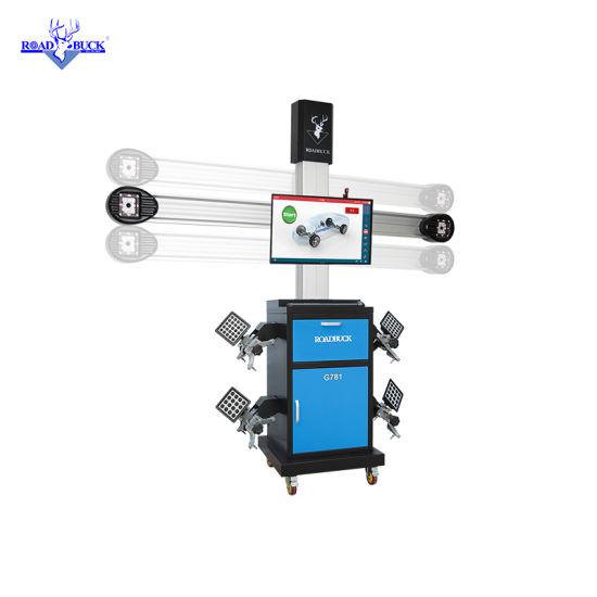 Factory 2HD Cameras portable 3D Wheel Aligner for Work Shop