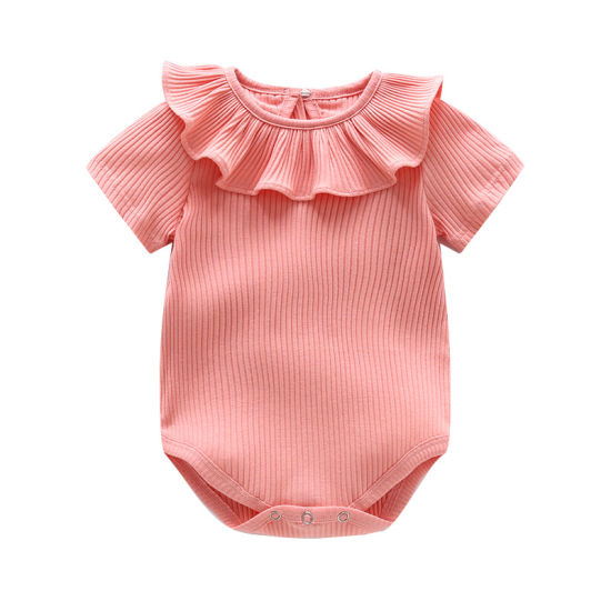Children's Clothing Pit Strip Softer Jumpsuit Knitted Bodysuit Baby Clothes
