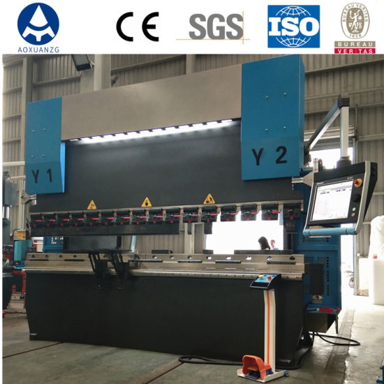 High Precision Synchronous Hydraulic CNC Press Brake Plate Bending Machine with 8+1 Axis