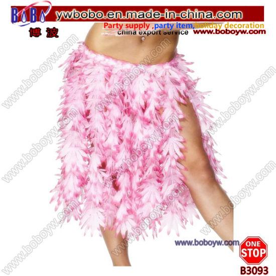 HULA FANCY DRESS ACCESSORY HAWAIIAN HANDBAG LUAU BAG