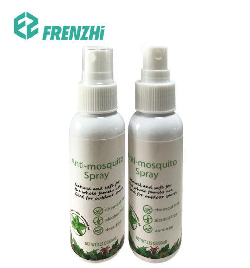 No Deet Customized Picaridin Nature Oil Mosquito Repellent Liquid Insect Repellent Spray