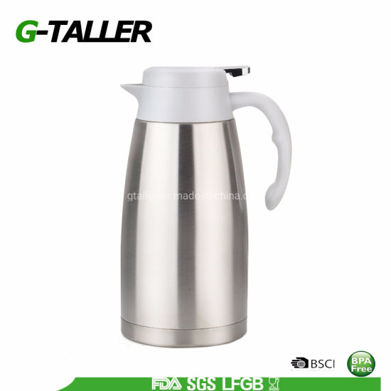 Custom Stainless Steel Thermos Flask Jug for Hot Water and Coffee