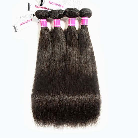 Quality Assurance Non-Chemical Treatment 10A Cuticle Aligned Peruvian Human Virgin Hair pictures & photos