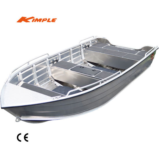 China Kimple-Adventure 460 Aluminum Boat for Sale - China