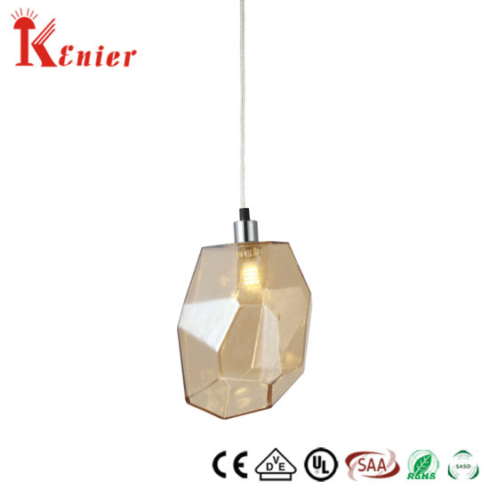 New Industrial Product Ideas Wholesale Kitchen Stairs Iron Glass Retro Pendant Lamp