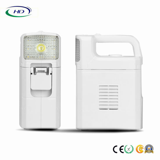 New Multi Functional Portable Emergency Lamp with Power Bank pictures & photos
