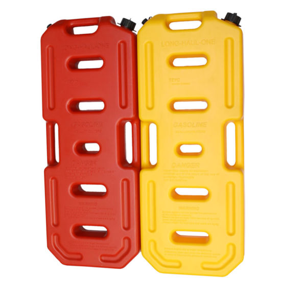10L 20L 30L ABS Red and Yellow Oil Tank Fuel Can
