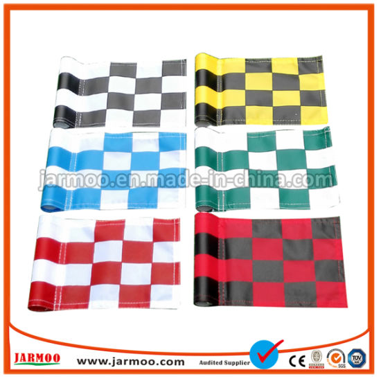 Fast Delivery Custom Polyester Mini Golf Flag pictures & photos