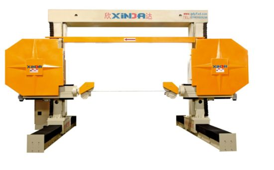 Gantry movable type CNC wire saw machine pictures & photos