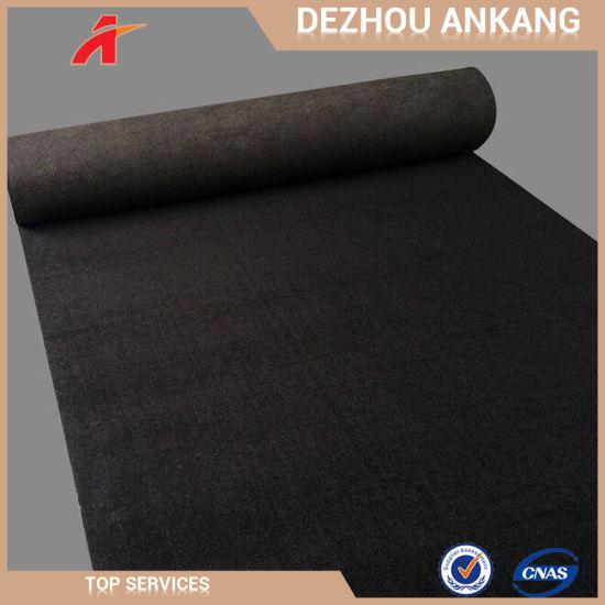 Polyester Plain Exhibition Carpet for Auto Show