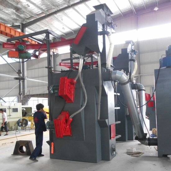 Hook Hanger Type Shot Blast Cleaning Machine/Low Price Hot Metal Polishing Machine for LPG Cylinder/Shot Blasting Machine