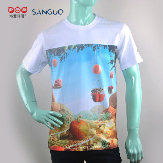 Custom High Quality Cotton Printing T Shirts with Your Own Logo