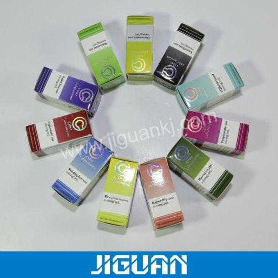 Colorful Small E-Liquid Glass Vial Steroid Paper Box