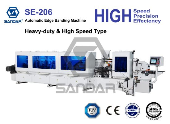 High Speed Edge Banding Machine with Heavy Duty Frame