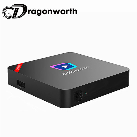 Iphd S900 New IPTV Box with 1 Year Subscription Support Linux OS, Stalker, LAN, and H. 265, Support WiFi Inside pictures & photos