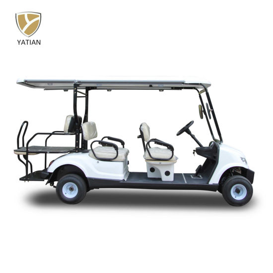 Battery Powered Vehicles Chinese Manufacturer Golf Carts Electric Trolley