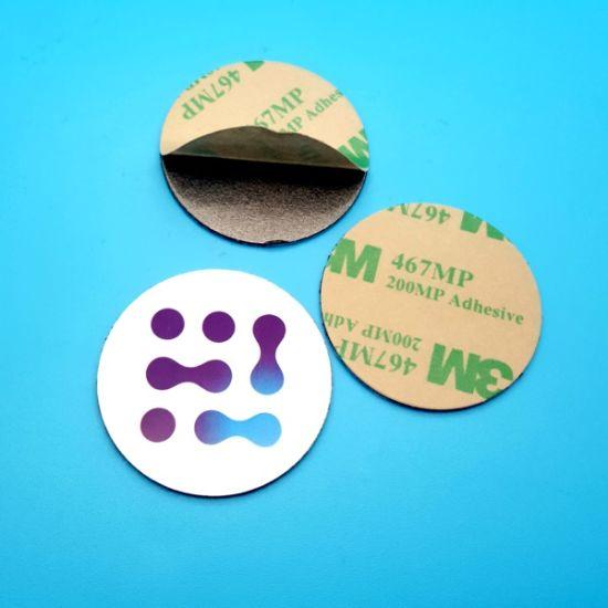 Waterproof Pre-printed RFID 13.56MHz NTAG213 NFC Anti Metal PVC Tag