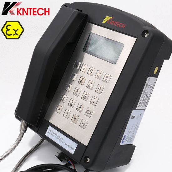 Kntech Explosion Proof Telephone Knex1 Iecex Hazardous Area Ex Proof Telephone