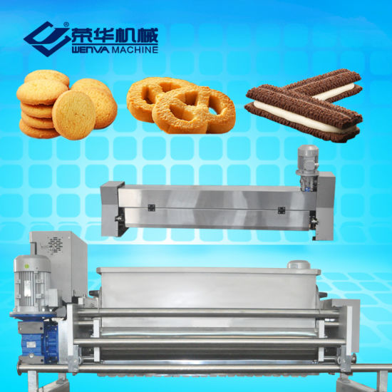 Wenva New Products Wire Cut Continuous Extruding Cookie Production Line