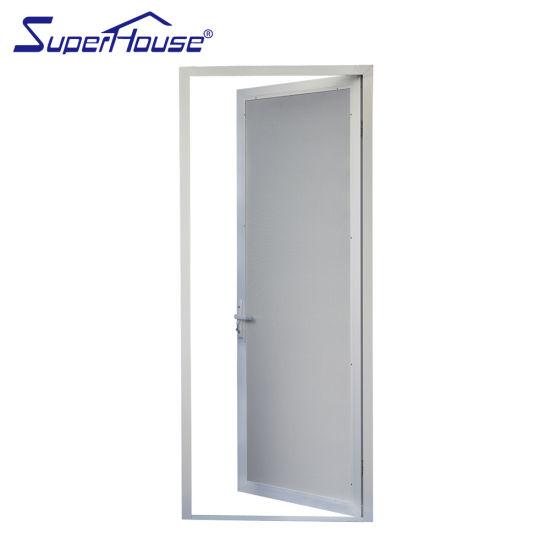 Aluminium Doors Free Spare Parts Superhouse Fire Proof Stainless Steel Mesh Aluminum Frame Windows
