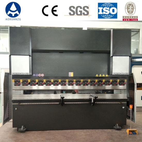 CNC 4+1 Axis Sheet Metal Hydraulic Press Brake with Da53t Controller