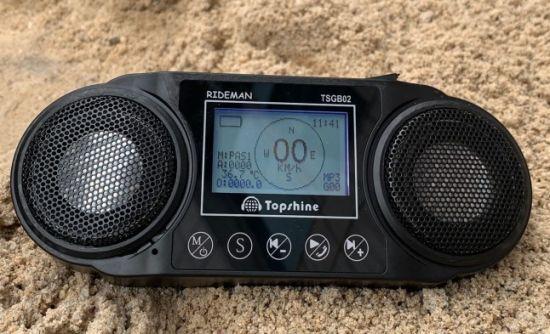 2020 Personal GPS Tracker Built-in Stereo HiFi Bluetooth Speaker
