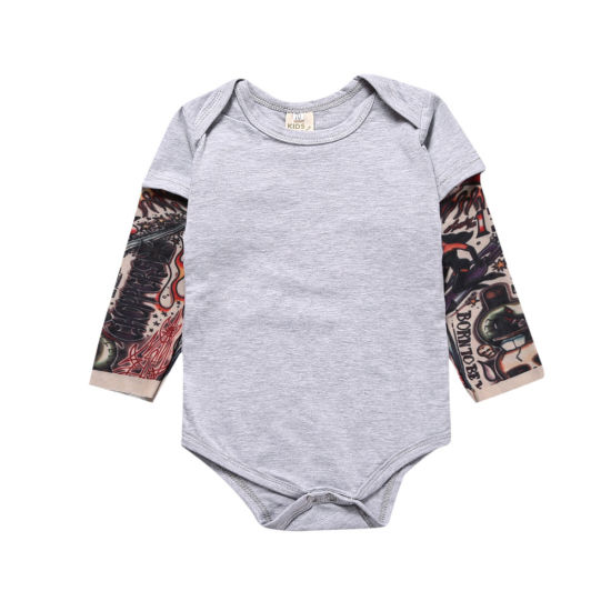 Infant Jumpsuit Baby Cotton Tattoo Clothing Baby Clothes