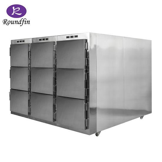 Funeral Equipment 9/20 Bodies Mortuary Refrigerator Freezer Corpse Cabinet