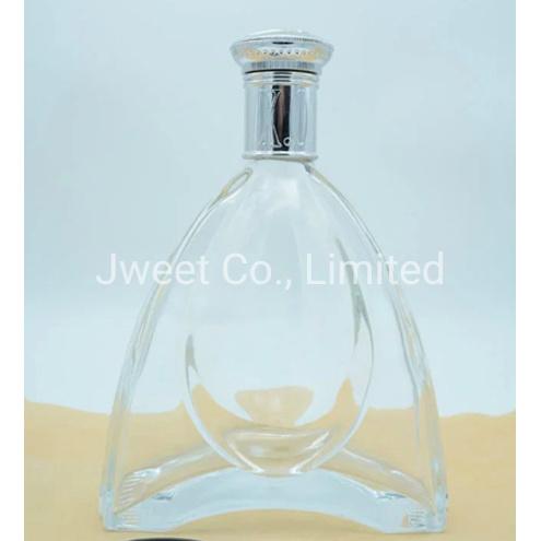 700ml Factory Custom Highly White Vodka Alcoholic Glass Bottle