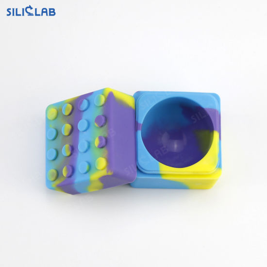 Big 60 Ml Soft Food Grade Silicone DAB Wax Jar Oil Weed Hash Container pictures & photos