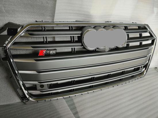 Auto Parts Grey/Black S5 Front Grille for Audi A5 2016~2018
