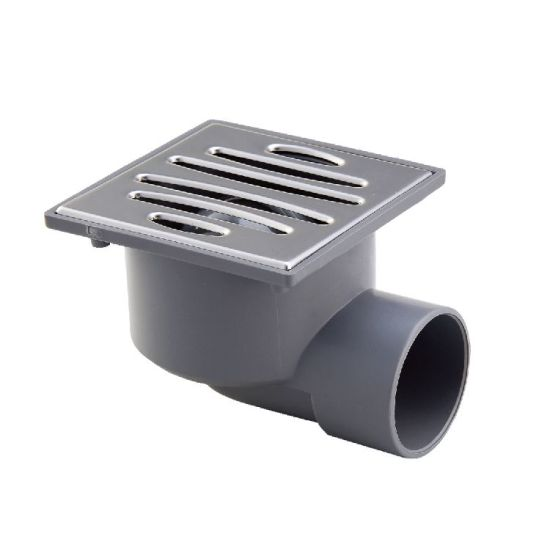 China Era Din Pvc Pipe Fitting For Drainage Plstic Floor Drain China Floor Drain Fitting