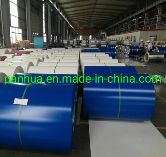 AISI Standard PPGI - Prepainted Galvanized Steel Coil for Roofing Sheet