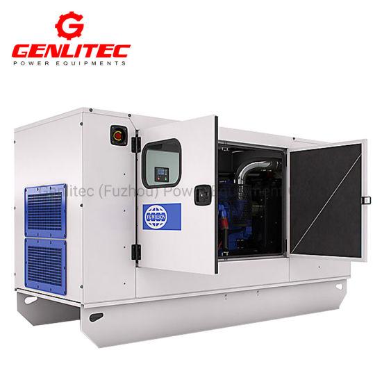 Low Noise 100kVA 80kw Fg Wilson Diesel Generator with UK Perkins Generator