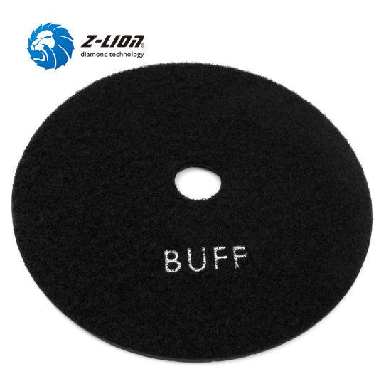 "4""/100mm Black Diamond Resin Flexible Foam Polishing Stone/Granite/Marble/Quartz Buffing Pads"