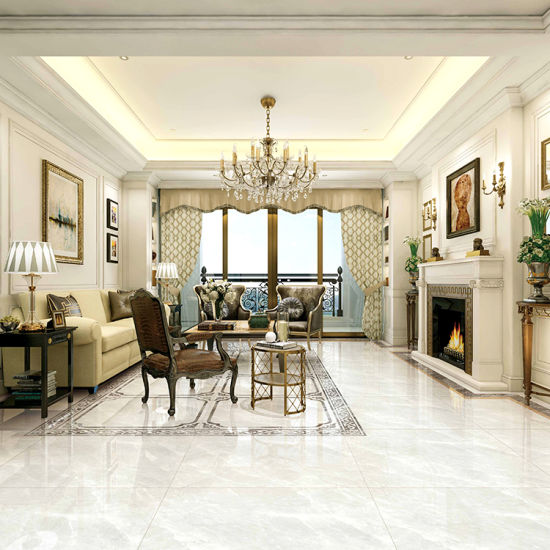 Foshan Glazed Full Body Polished Porcelain Marble Floor Tiles