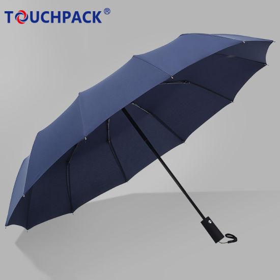 Wholesale Custom Logo Printing Foldable Rain Umbrella