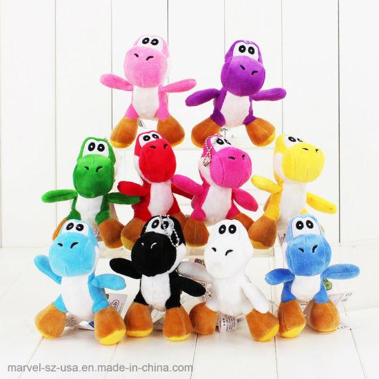 Stuffed Phone Chain Cute Dinosaur Animal Doll Soft Plushtoys