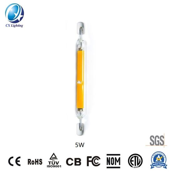 R7s SMD E12/E14 LED Lamp 78mm 4W or 5W 600lm 120V or 230V with Ce RoHS Warranty 3 Years IP44 pictures & photos