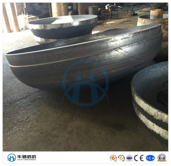 Professional Manufacturer Big Size Stainless Steel Pipe End Cap
