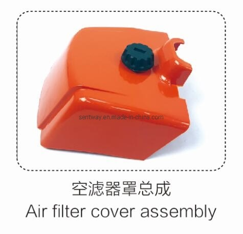381 Air Filter Cover Assembly for Petrol Chainsaw Replacement Parts