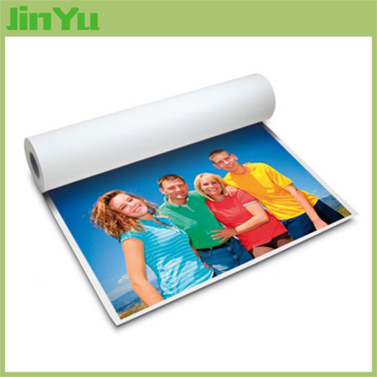 260GSM Semi-Glossy RC Photo Paper Roll for Inkjet Printing pictures & photos