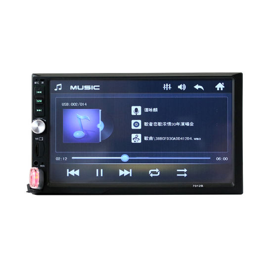 1080 HD Screen 2 DIN Mirror Link Bluetooth Car Stereo with MP5 Player FM  Radio